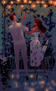 Out on the deck. by PascalCampion