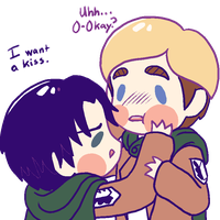 Kisses For Erwin by suicidal-zombie