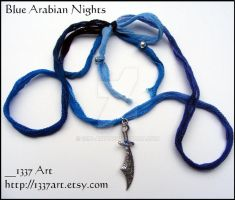 Blue Arabian Nights by 1337-Art