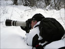 Me photo hunting_ by RichardConstantinoff