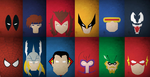 Marvel And DC Super Heroes by redshardcaster