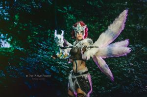 Woad Scout Quinn: Still heart, steady aim by MowkyCosplay