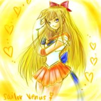 Sailor Venus by jenifuru