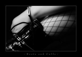 Boots and Cuffs by CerebralCortex