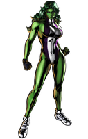 Ultimate MVC3 she_hulk by heatheryingNL