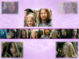 Faramir + Eowyn by IcedMoonlight