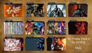 DC Comics Folder Pack 2 by 3o1415