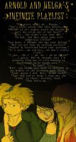 Arnold and Helga's Infinite Playlist by AJanae79