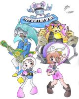 Jetters Band by IanDimas