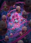 Bee and PuppyCats Cosmic Tendrils by Jalbhenn