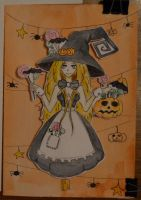 Card for Halloween by MsCoks