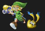Splatoon Link by WTFmoments