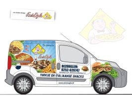 food car sticker by shu01