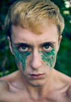 My tears are my warpaint by RyanBookerPhoto