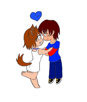 Puppy Love (colored By Gem) by V1EWT1FUL