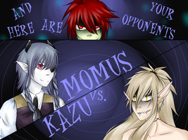 HM Tournament Momus vs. Kazu pg2 by Bootsii