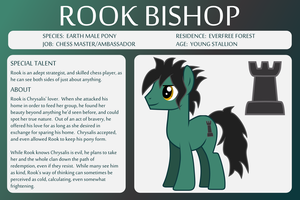 OC Bio Sheet Rook by outlaw4rc