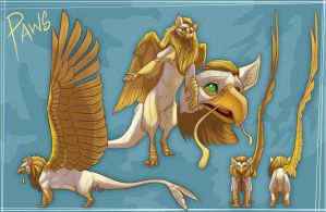 Paws Gryphon by FablePaint
