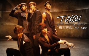 TVXQ Mirotic Desktop by hagane-girl