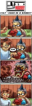 MRIAM: #167 - Eggs in a Basket by SonicWolvelina99