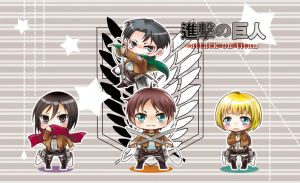 Shingeki no Kyojin by moonu17