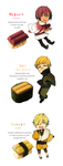 Mr. KitKat Series: Sushi KitKat by Cioccolatodorima