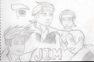 A page from my sketchbook: Jim Hawkins by azuk42