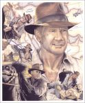Indiana Jones Illustrated by mgiblin