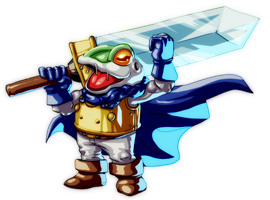 AGDQ2014 Chrono Trigger Frog by koyote974
