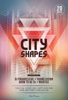 City Shapes Flyer Template by styleWish