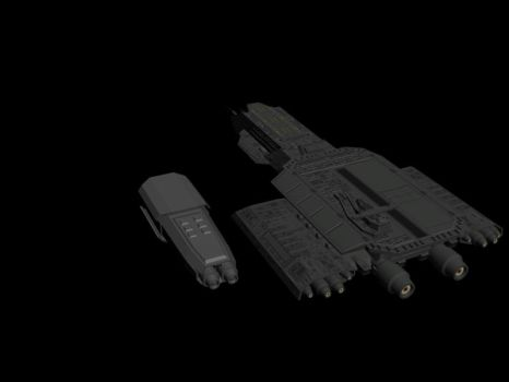 Claudius Class WIP Size Comp. by EpytronOmega