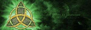 XGC Gaelic signature by MissSilverFyre