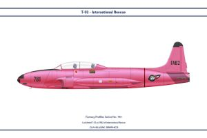 Fantasy 781 T-33A International Rescue by WS-Clave