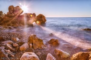 Cap d'Ail in Winter by DWaschnigPhotography