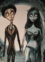 The corpse bride by flokat