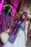 Purple out to the triforce by cyberfox007