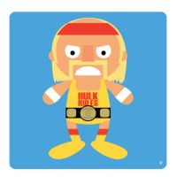 hulk hogan by striffle