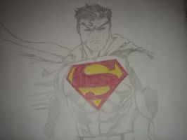 Superman by ArtismyDeath