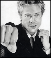 Brad Pitt by basketcase04
