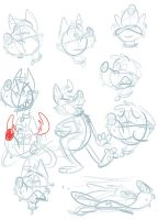 Silly doodles 17 by valdo-wolf