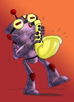 jazz bot by puffychin by richard-chin