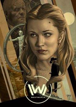 WESTWORLD by RUIZBURGOS