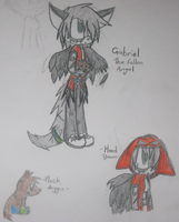 ~Gabriel The Fallen Angel~ by ChibiChibiWoofWoof