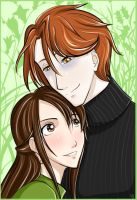 Green - Edward and Bella by yaoi101
