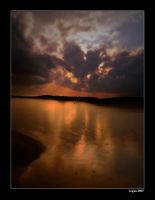 Evening on Presque Isle by InsanitySuccess
