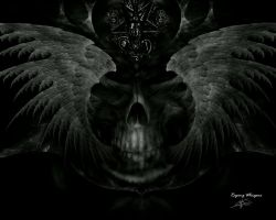 Death wings by raping-whispers