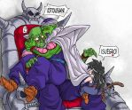 Padre, hijo y Gohan by lesly10