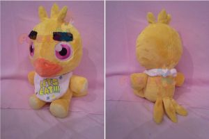 ON HOLD  13 Inch FNAF Chica Teddy by PrinceOfRage