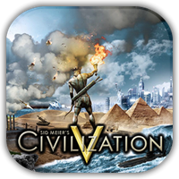 Civilization V Game Icon by Wolfangraul
