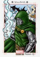 Dr. Doom - Marvel Bronze Age by tonyperna